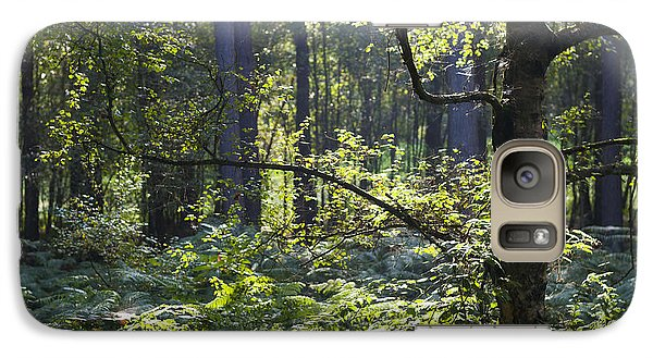 Galaxy Case featuring the photograph Aspley Woods by David Isaacson