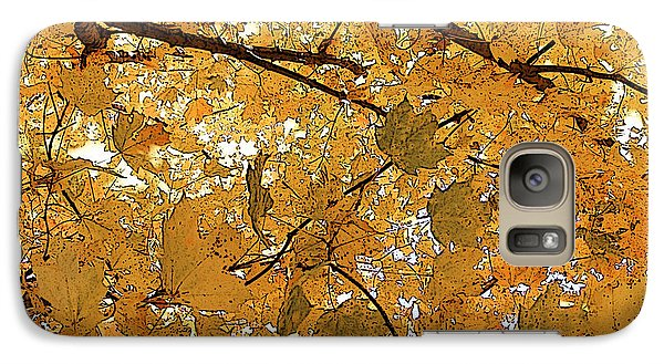 Galaxy Case featuring the photograph Autumn Canopy  by Margie Avellino