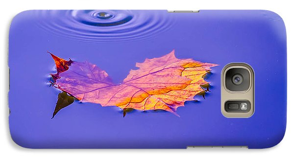Galaxy Case featuring the photograph Autumn Drops by Brian Stevens