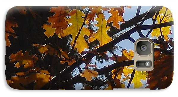 Galaxy Case featuring the photograph Autumn Leaves by Kristen R Kennedy