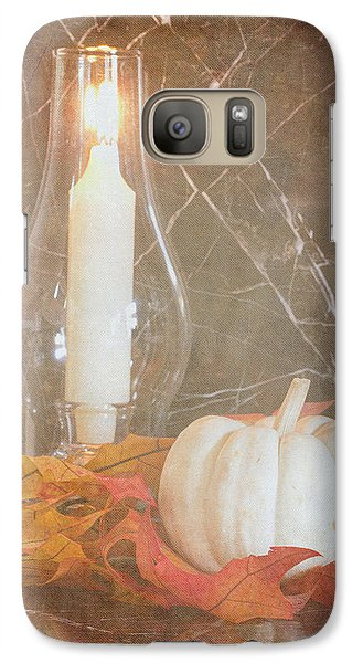 Galaxy Case featuring the photograph Autumn Light by Heidi Smith