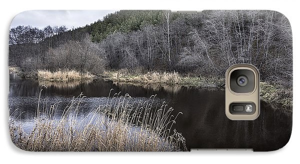 Galaxy Case featuring the photograph Autumn Pond by Vladimir Kholostykh