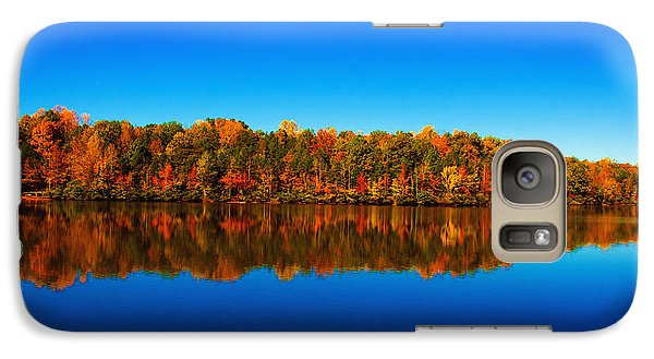 Galaxy Case featuring the photograph Autumn Reflections by Andy Lawless