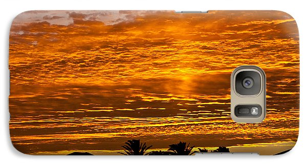Galaxy Case featuring the photograph 1 Awsome Sunset by Brian Williamson