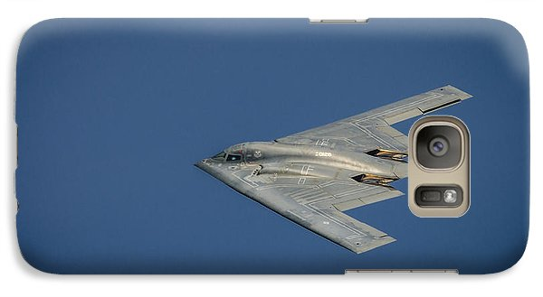 Galaxy Case featuring the photograph B2 Bomber  by Bradley Clay