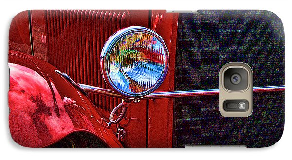 Galaxy Case featuring the photograph Bad Dog by Ron Roberts