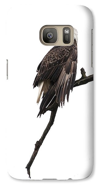 Galaxy Case featuring the photograph Bald Eagle 5 by David Lester