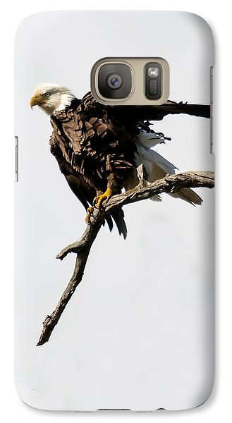 Galaxy Case featuring the photograph Bald Eagle 8 by David Lester