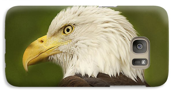 Galaxy Case featuring the photograph Bald Eagle  by Brian Cross