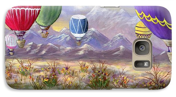 Galaxy Case featuring the painting Balloons by Jamie Frier