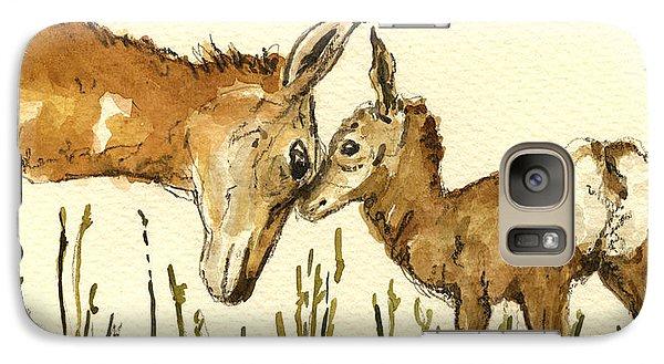 Bambi Deer Galaxy Case by Juan  Bosco