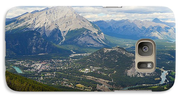 Galaxy Case featuring the photograph Banff Town by Yue Wang