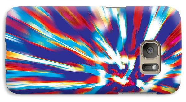 Galaxy Case featuring the digital art Bang by David Davies