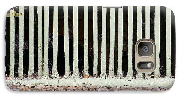 Dungeon Galaxy S7 Case - Bars by Tom Gowanlock