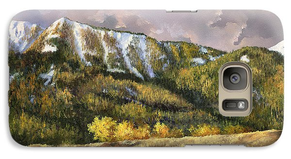 Galaxy Case featuring the painting Bear Claw by Lynne Wright