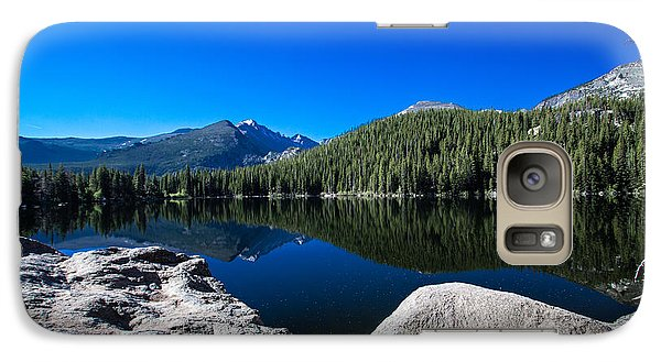 Galaxy Case featuring the photograph Bear Lake Morning by Cathy Donohoue