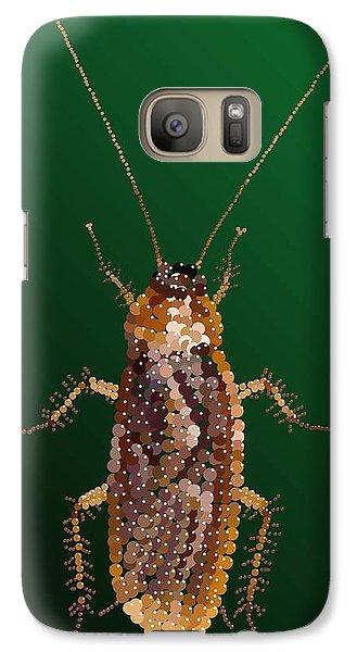 Galaxy Case featuring the digital art Bedazzled Roach by R  Allen Swezey