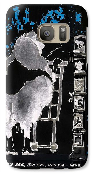 Galaxy Case featuring the photograph Marketing 2 by Larry Campbell