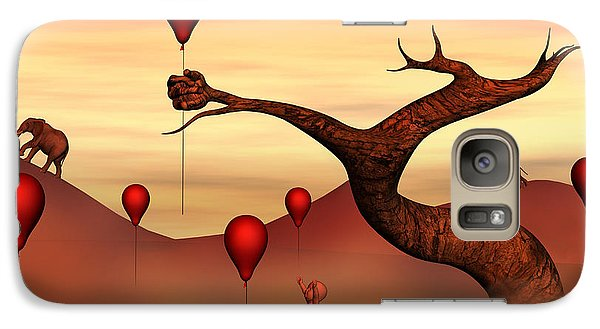 Galaxy Case featuring the digital art Believe What You See by Gabiw Art