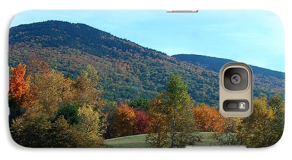 Galaxy Case featuring the photograph Belknap Mountain by Mim White