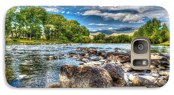 Galaxy Case featuring the photograph Big Hole River Divide Mt by Kevin Bone
