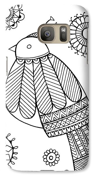Bird Dove Galaxy Case by Neeti Goswami