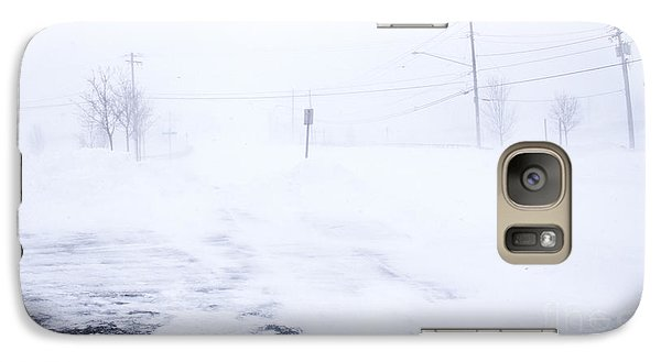 Galaxy Case featuring the photograph Blizzard Of 2014 by Jim Lepard