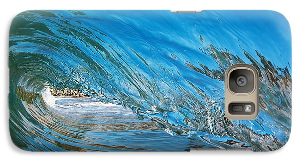 Galaxy Case featuring the photograph Blue Glass by Paul Topp