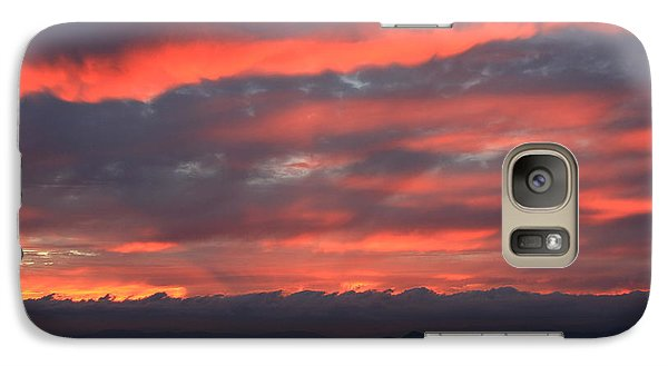 Galaxy Case featuring the photograph Blue Ridge Parkway Sunset-north Carolina by Mountains to the Sea Photo