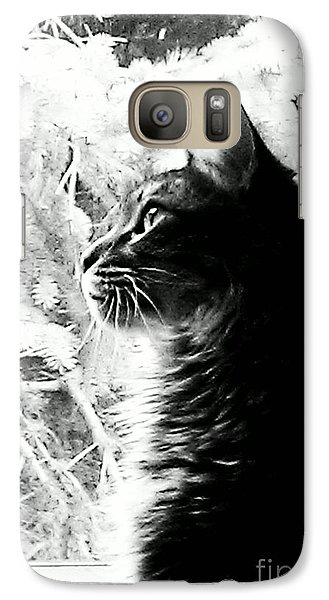 Galaxy Case featuring the photograph Bo by Jacqueline McReynolds