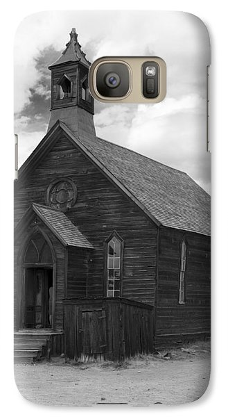 Galaxy Case featuring the photograph Bodie Church by Jim Snyder