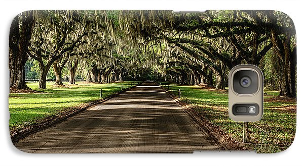 Galaxy Case featuring the photograph Boone Plantation Road by John Johnson