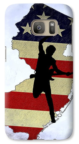 Born In New Jersey Galaxy Case by Bill Cannon