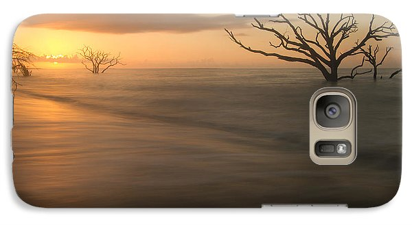 Galaxy Case featuring the photograph Botany Bay Beach by Doug McPherson