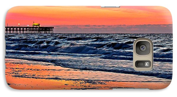 Galaxy Case featuring the photograph Break Of Dawn by Eve Spring