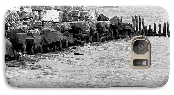 Galaxy S7 Case featuring the photograph Breakwater by Ricky L Jones