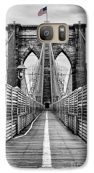 Brooklyn Bridge Galaxy S7 Case
