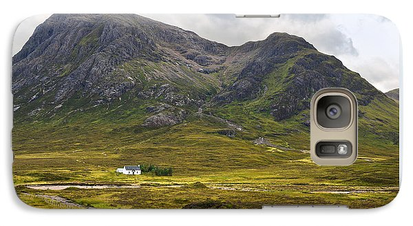 Galaxy Case featuring the photograph Buachaille Etive Mor Glencoe Scotland by Jane McIlroy