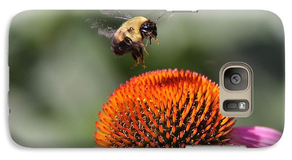 Galaxy Case featuring the photograph Bumblebee   by Yumi Johnson