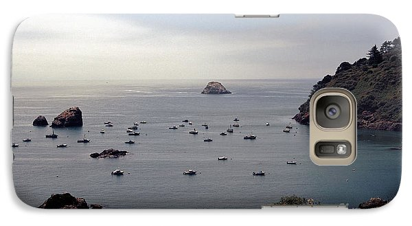 Galaxy Case featuring the photograph Busy Harbor by Sharon Elliott