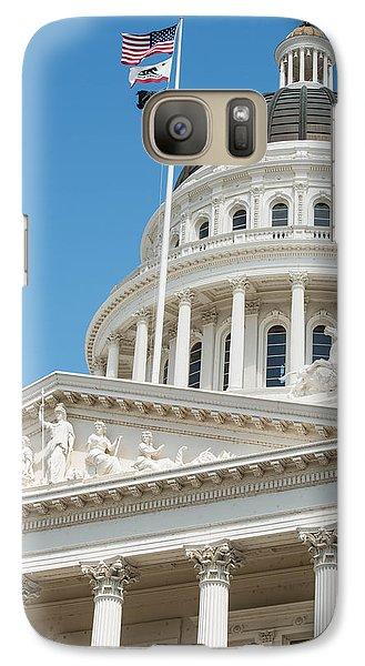 California State Capitol In Sacramento Galaxy S7 Case