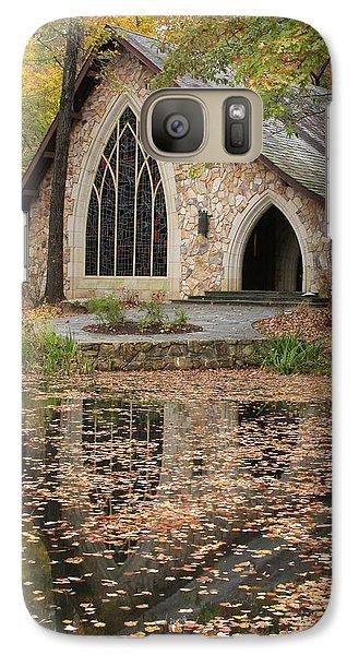 Galaxy Case featuring the photograph Callaway Gardens Chapel-pine Mountain Georgia by Mountains to the Sea Photo