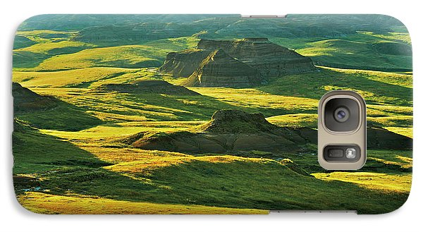 Canada, Saskatchewan, Grasslands Galaxy S7 Case by Jaynes Gallery