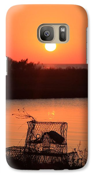 Galaxy Case featuring the photograph Cape Hatteras Sunset North Carolina by Mountains to the Sea Photo