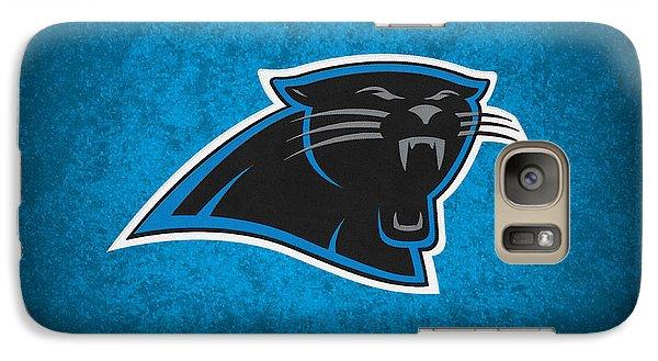 Carolina Panthers Galaxy S7 Case by Joe Hamilton