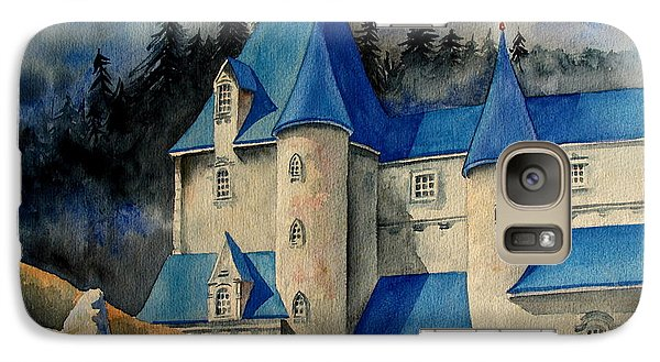Galaxy Case featuring the painting Castle In The Black Forest by Ranjini Kandasamy