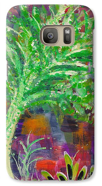 Galaxy Case featuring the painting Celery Tree by Holly Carmichael