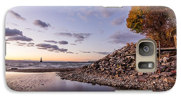 Galaxy Case featuring the photograph Champlain Twilight by Jeremy Farnsworth