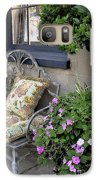 Galaxy Case featuring the photograph Charleston Charm by Gina Savage