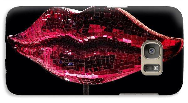 Chelsea Lips Galaxy Case by Natasha Marco